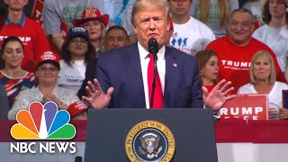 President Donald Trump Goes After 'mini Mike' Bloomberg At Campaign Rally | Nbc News