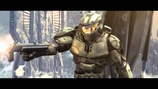 Halo Wars Epic Battle Scene (Must Watch!)