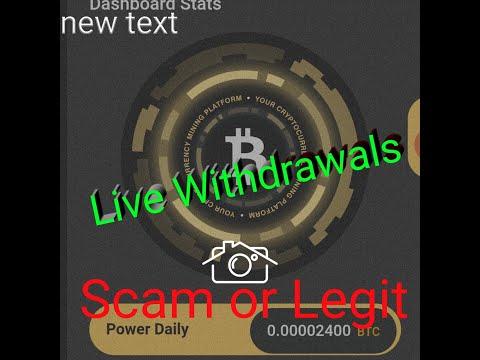 Live Withdrawals Mining Power | legit atau scam