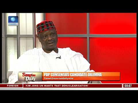 Kwankwaso Explains Why Multiple Presidential Candidates Good For PDP Sunrise Daily