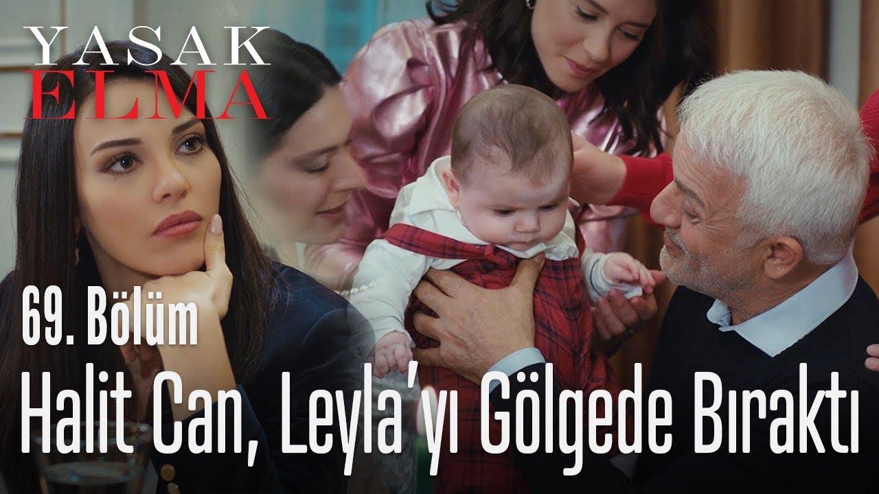 Halit Can, Leyla'yı gölgede bıraktı - Yasak Elma 69. Bölüm