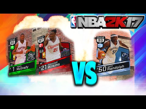T-MAC & DOMINIQUE WILKINS VS A DIAMOND! NBA 2K17 MyTEAM GAMEPLAY!