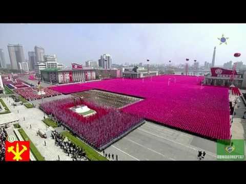 Kuzey kore yeni askeri güç gösterisi(amerikaya göz dağı)