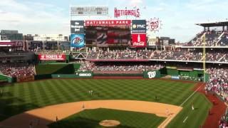 14th inning stretch, Yankees v. Nationals, June 16, 2012