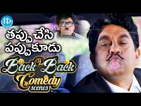 Tappu Chesi Pappu Koodu Movie Back To Back Comedy s  Mohan Babu  Srikanth