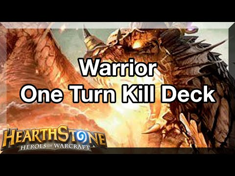 Hearthstone - Krieger One Turn KIll Deck (Alexstrasza) - Guide (German/HD)