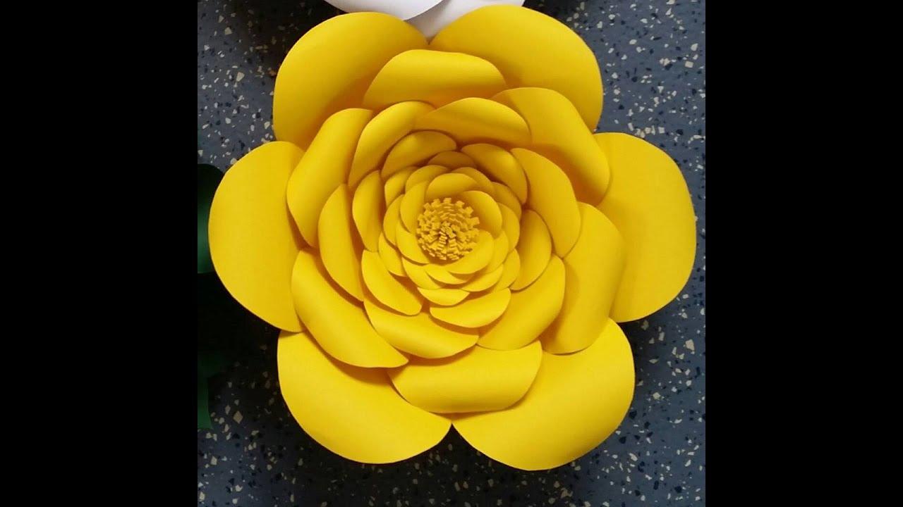 Anastassia Giant Paper Flower Youtube