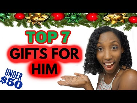 Top 7  Christmas Gifts For Men | Christmas Gifts For Husband, Boyfriend, Dad, Husbands