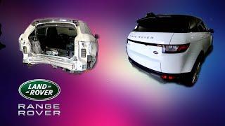 Range Rover Evoque. Rear end repair.Ремонт задней части