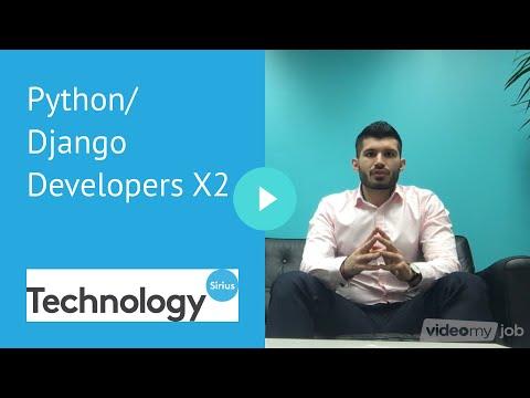 Python/Django Developers X2