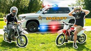 Angry Neighbor Calls COPS on DIRT BIKE RIDERS!