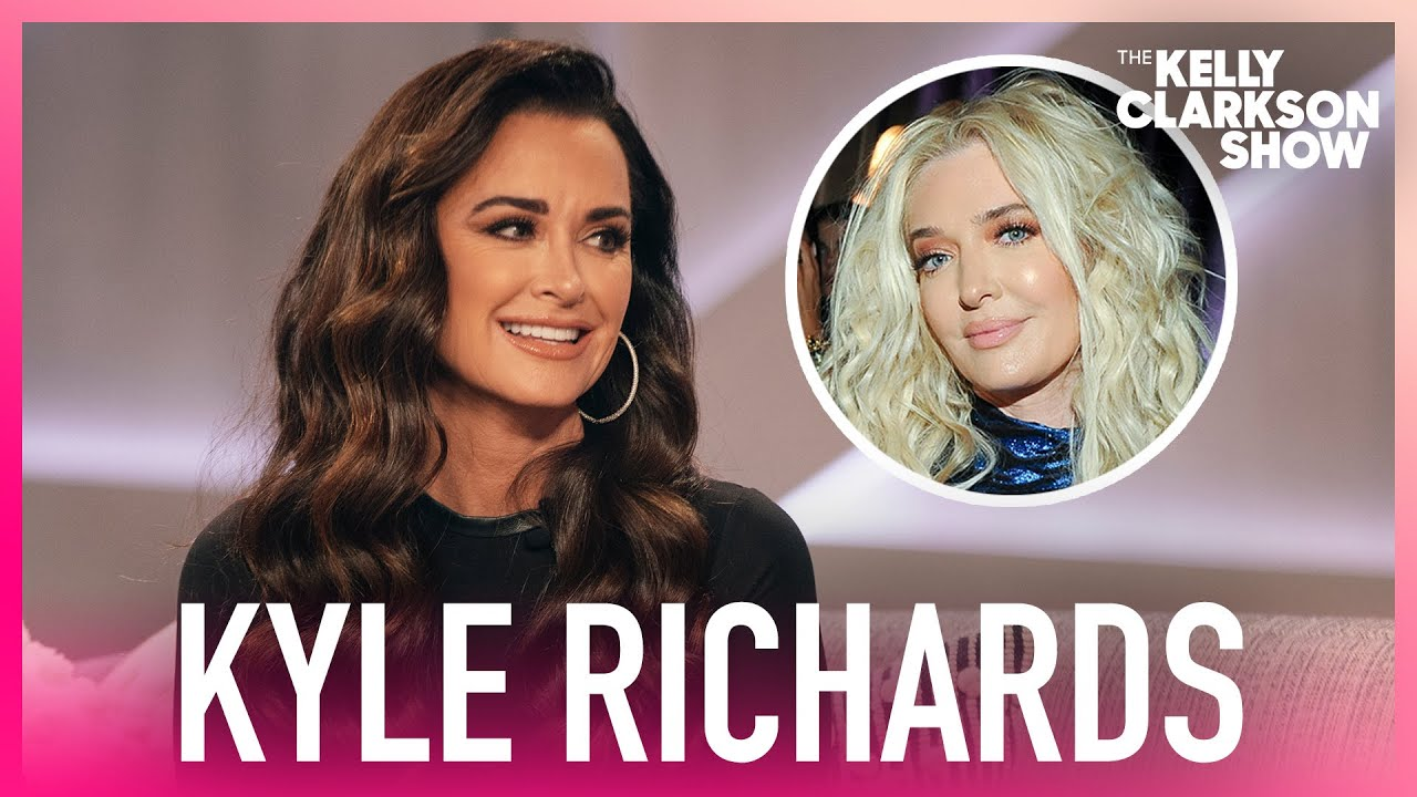 'RHOBH' Kyle Richards Reveals She And Erika Jayne Are 'Good'
