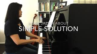 Simple Solution - Pamela Wedgwood Jazzin' About series