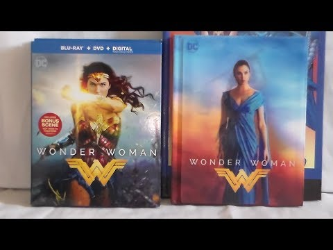 Unboxing Wonder Woman Movie Collection