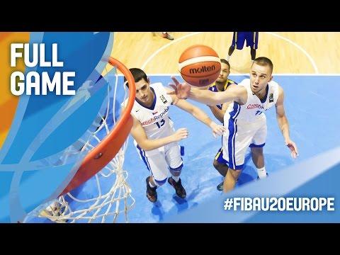 Czech Republic v Sweden - Full Game - FIBA U20 European Championship 2016