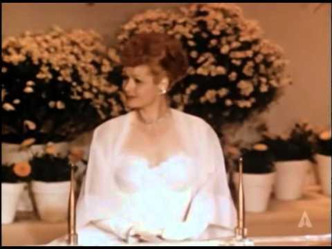 Lucille Ball at the 1952 Oscars