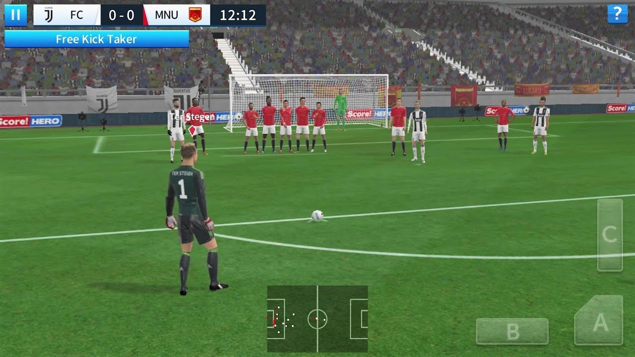 Dream League Soccer 2018 Android Gameplay #60