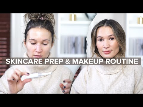 Winter Skincare Prep & Quick Workday Makeup Routine ⛄️| Ttsandra