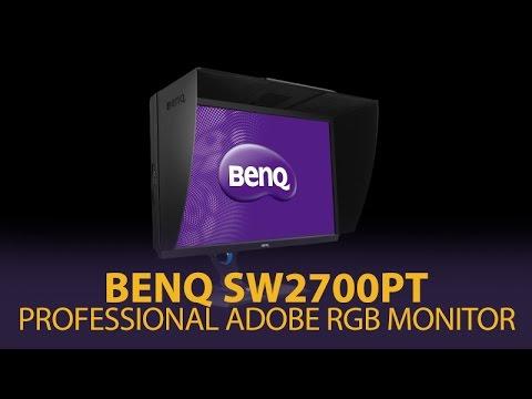 BenQ SW2700PT 27' QHD Professional Adobe RGB Monitor - Perfect For Photographers & Illustrators