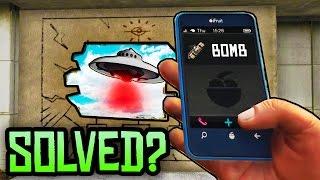 GTA 5 Easter Eggs - SECRET PHONE NUMBER BOMB MYSTERY SOLVED? (GTA 5 Black Cellphone Mystery)