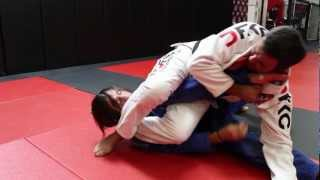 Jiu Jitsu Techniques - Omoplata from all four + Transition to Armbar/Triangle