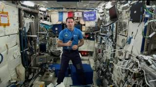 Space Station Crew Member Discusses Life in Space with French Media