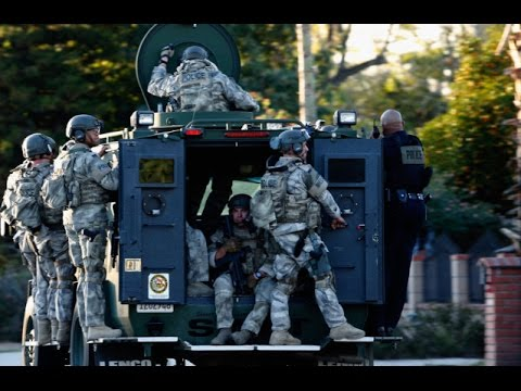 Mass Shooting Islamic State Terrorists Farook Malik California Breaking News December 5 2015