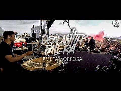 DEAD WITH FALERA - #Metamorfosa (live at Garut Rockfest) DrumCam