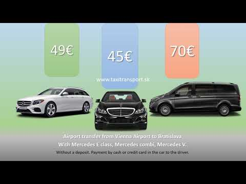 Airport Taxi Transfer From Or To Bratislava, Vienna, Budapest, Prague