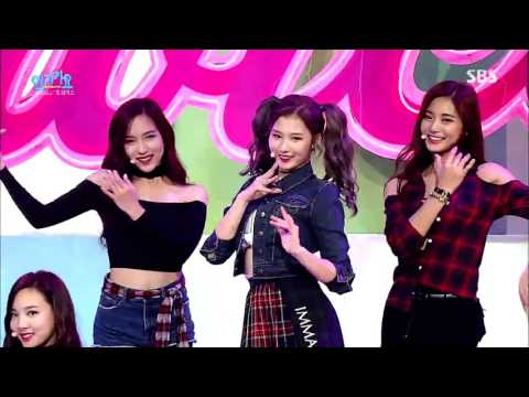 TWICE트와이스 OOH-AHH하게Like OOH-AHH Stage @ SBS Inkigayo 2015.10.25