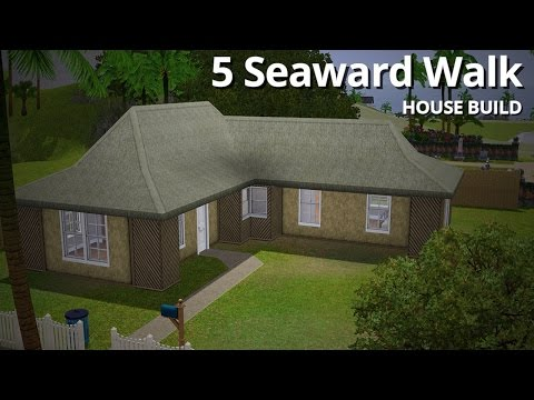 The Sims 3 House Building - 5 Seaward Walk - Aluna Island