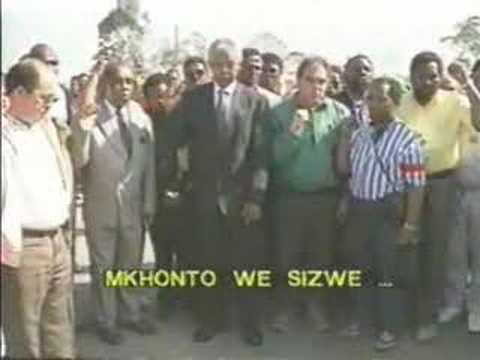 Racist songs of the ANC and Nelson Mandela- Part 1 of 2