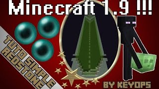 Usine à Enderman (Enderman farm) Minecraft 1.8 et 1.9 !!! - XP / Ender Pearl - TUTO Redstone [MAP]