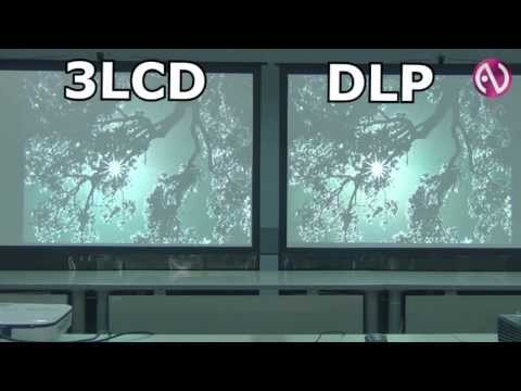 Контрастность и цветовая яркость: сравнение технологий DLP и 3LCD.