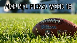 2016 NFL Week 16 Picks