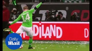 Relive Kevin de Bruyne's double for Wolfsburg against Bayern - Daily Mail