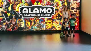 Matt's playtime loved watching Hotel Transylvania 3 summer vacation at the Alamo Drafthouse