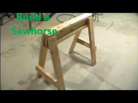 How To Build a Saw Horse from YouTube · Duration:  6 minutes 1 seconds