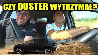 Krzysztof Hołowczyc testuje Dustera na odcinku rajdowym