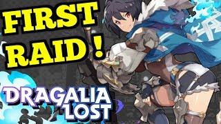FIRST RAID! (Loyalty's Requiem) : Dragalia Lost