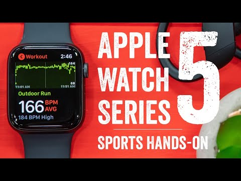 Apple Watch Series 5 // Sports & Fitness First Run & Tests