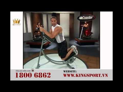 Máy tập cơ bụng AB Coaster phiên bản 3 - HD