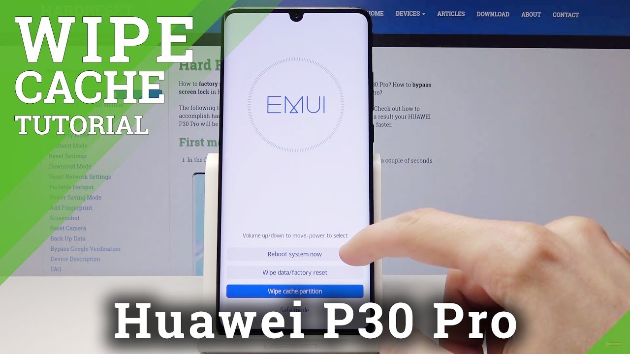 Hard Reset HUAWEI P30 - Bypass Screen Lock / Factory Reset Tutorial