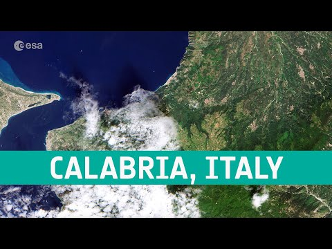Earth from Space: Calabria, Italy