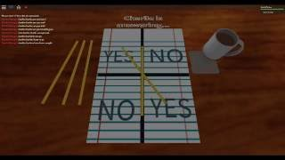 ROBLOX CHARLIE CHARLIE GAME