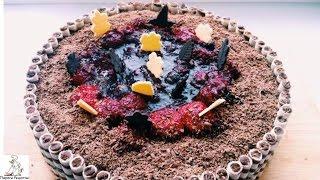 Торт с фруктами рецепт с фото.Бисквитный ягодно- творожный торт