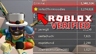 I GOT VERIFIED ON ROBLOX!!