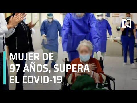 Mujer de 97 años vence al COVID-19 en Nuevo León - Paralelo 23