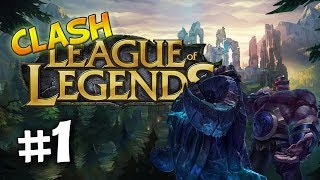 League of Legends Clash | #1 - BETA Day 1