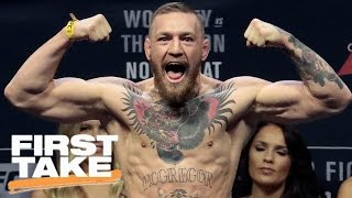 Conor McGregor Vows To Stop Floyd Mayweather | First Take | March 20, 2017